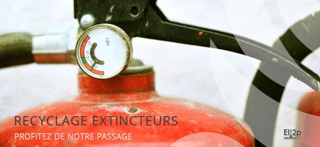 Recyclage extincteur Lyon