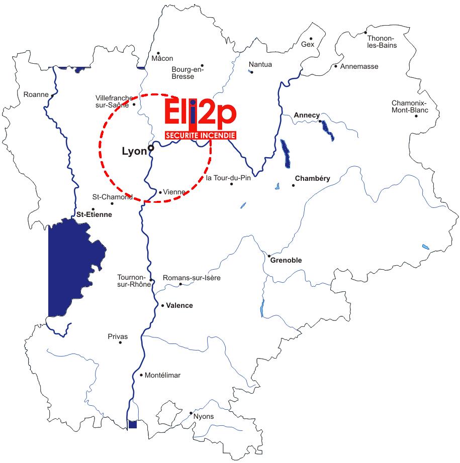 Rhône-Alpes entreprise sécurité incendie