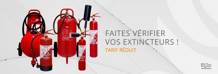 Vérification extincteur Vénissieux